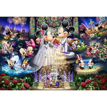 Cartoon Wedding Mouse 5D DIY Paint By Diamond Kit - Paint by Diamond