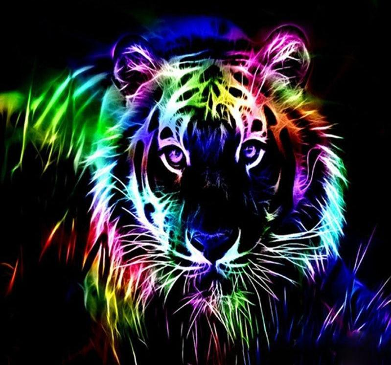 Glowing Animal 5D DIY Paint By Diamond Kit