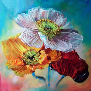 Bunch Of Flowers 5D DIY Paint By Diamond Kit - Paint by Diamond