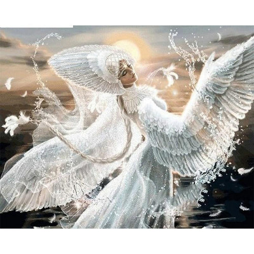 Dancing Angel 5D DIY Paint By Diamond Kit
