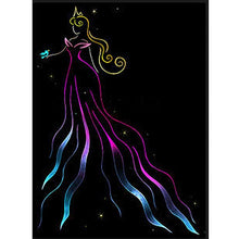 Cartoon Sleeping Beauty 5D DIY Paint By Diamond Kit