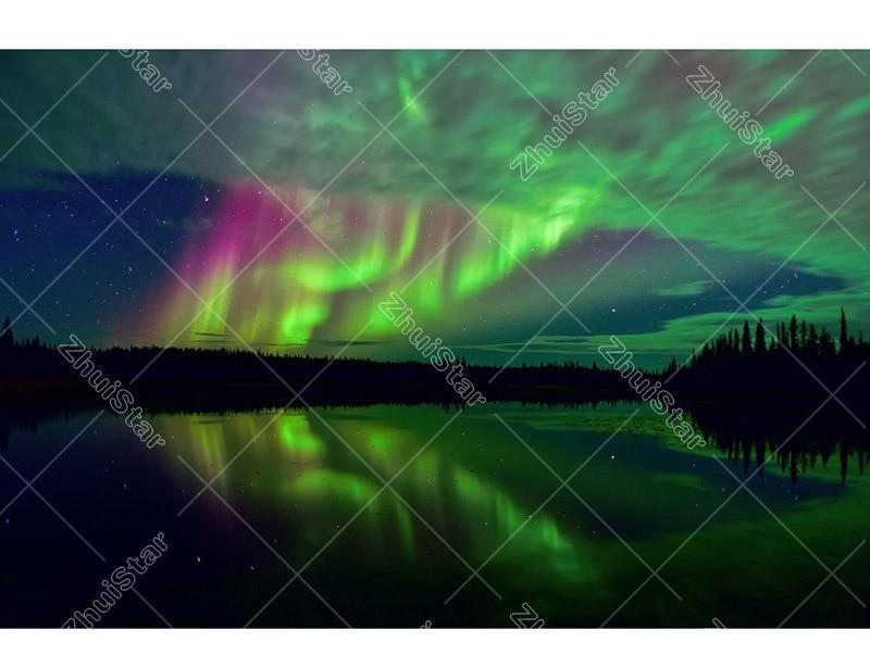 Northern Lights 5D DIY Paint By Diamond Kit