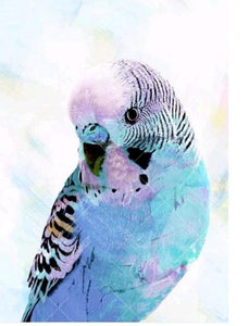 Blue Bird 5D DIY Paint By Diamond Kit
