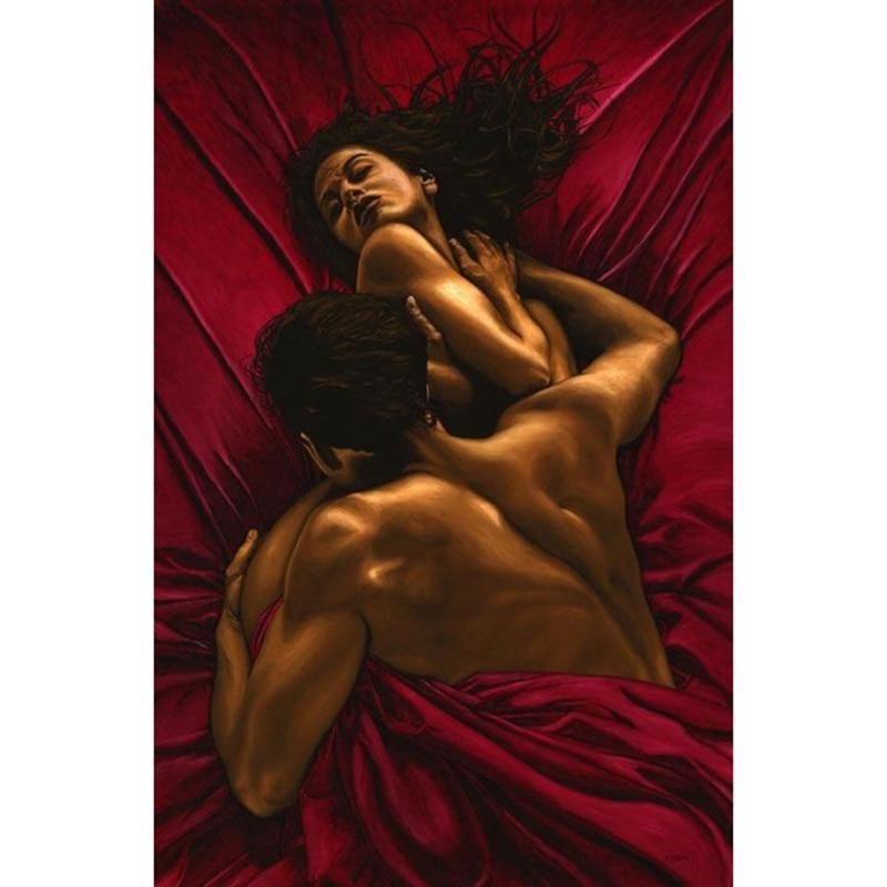 Man And Woman Sensual 5D DIY Paint By Diamond Kit - Paint by Diamond