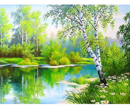 Scenic  5D DIY Paint By Diamond Kit
