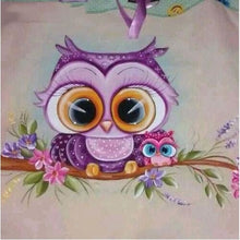 Big Eye Bambi Owl 5D DIY Paint By Diamond Kit - Paint by Diamond