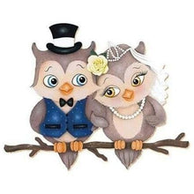 Couple of Loveable Owls 5D DIY Paint By Diamond Kit - Paint by Diamond