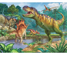 Dinosaur Field 5D DIY Paint By Diamond Kit