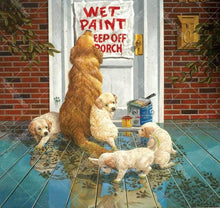 Dogs At The Door 5D DIY Paint By Diamond Kit