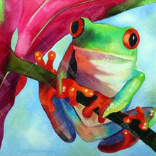 Frog 5D DIY Paint By Diamond Kit