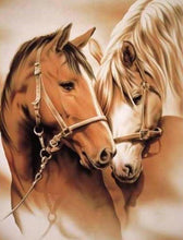 Horse Lovers 5D DIY Paint By Diamond Kit