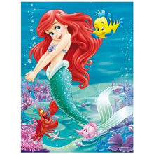 The Little Mermaid 5D DIY Paint By Diamond Kit