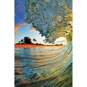 Sea Waves 5D DIY Paint By Diamond Kit