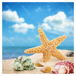 Starfish Shell 5D DIY Paint By Diamond Kit