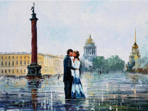 Romantic Couple 5D DIY Paint By Diamond Kit
