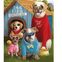 Dog Club 5D DIY Paint By Diamond Kit