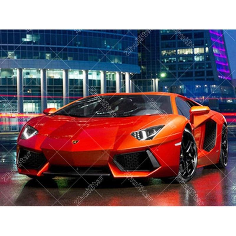 Majestic Sports Car 5D DIY Paint By Diamond Kit
