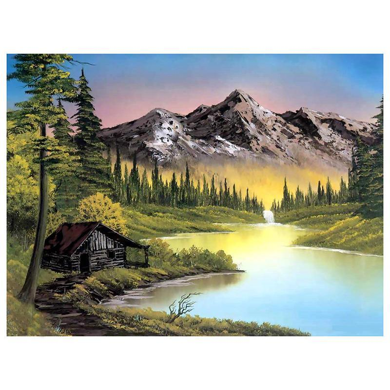 Beautiful Landscape 5D DIY Paint By Diamond Kit