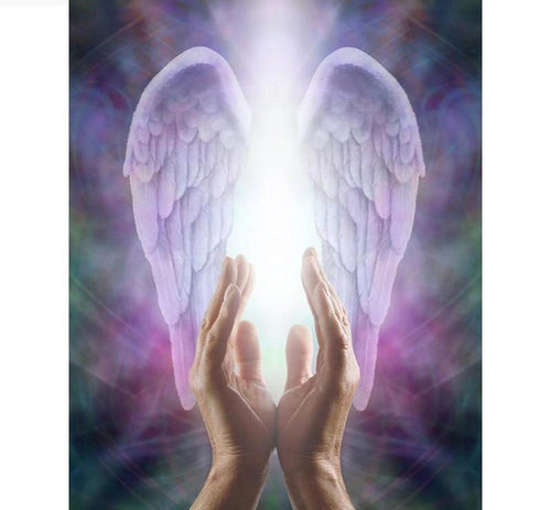 Guardian Angel Wings 5D DIY Diamond Painting