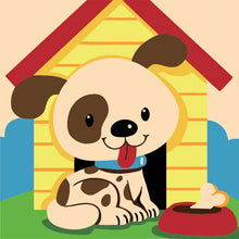 Silly Puppy 5D DIY Paint By Diamond Kit