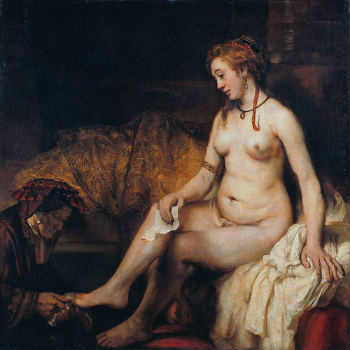 Bathsheba at Her Bath - Rembrandt 5D DIY Paint By Diamond Kit