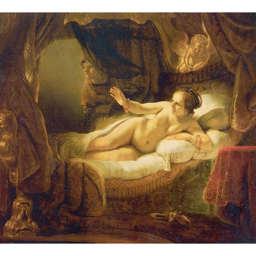 Danaë - Rembrandt 5D DIY Paint By Diamond Kit