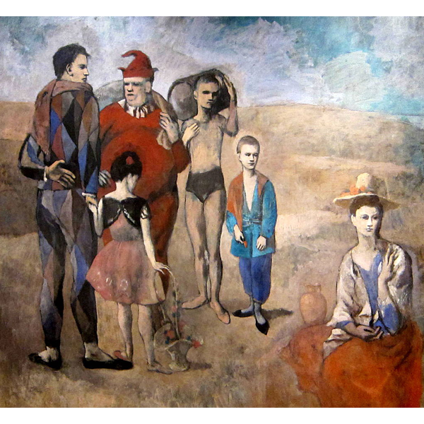 Family Of Saltimbanques - Pablo Picasso 5D DIY Paint By Diamond Kit