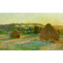 Haystacks - Claude Monet 5D DIY Paint By Diamond Kit