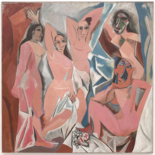 Les Demoiselles D'Avignon - Pablo Picasso 5D DIY Paint By Diamond Kit