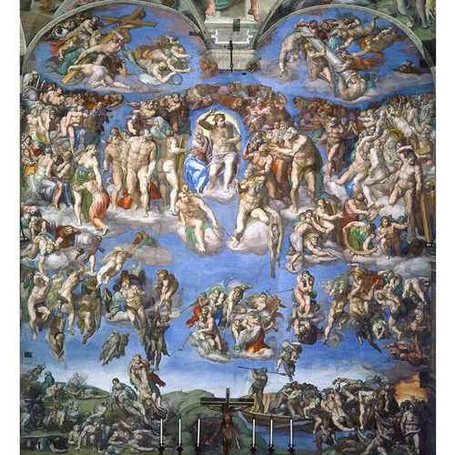 The Last Judgment - Michelangelo 5D DIY Paint By Diamond Kit