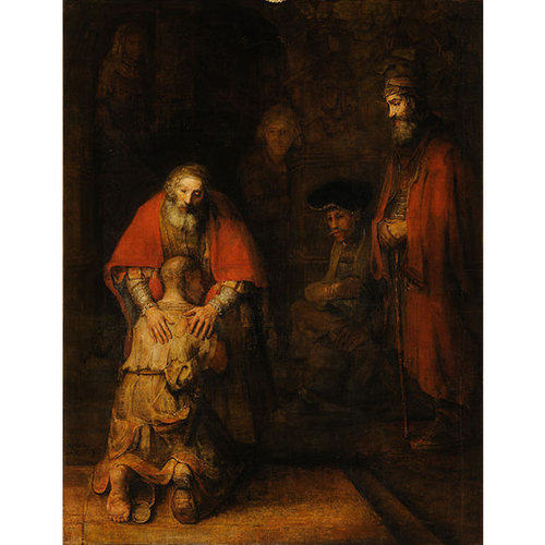 The Return of the Prodigal Son - Rembrandt 5D DIY Paint By Diamond Kit