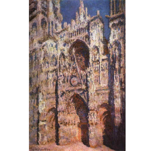 Rouen Cathedral - Claude Monet 5D DIY Paint By Diamond Kit