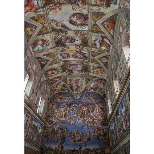The Sistine Chapel Ceiling - Michelangelo 5D DIY Paint By Diamond Kit
