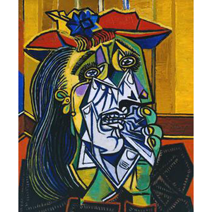 The Weeping Woman - Pablo Picasso 5D DIY Paint By Diamond Kit