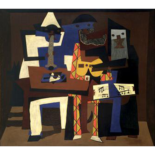 Three Musicians - Pablo Picasso 5D DIY Paint By Diamond Kit