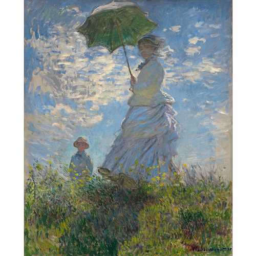 Woman With A Parasol - Claude Monet 5D DIY Paint By Diamond Kit