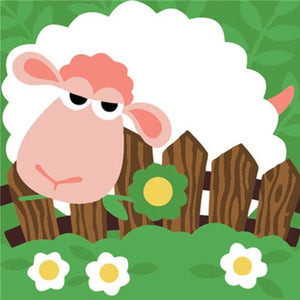 Sleepy Sheep 5D DIY Paint By Diamond Kit