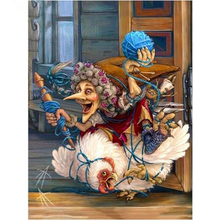 Witch Painting 5D DIY Paint By Diamond Kit