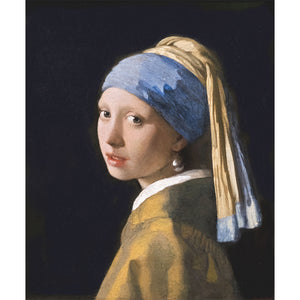 Girl with a Pearl Earring, Johannes Vermeer 5D DIY Paint By Diamond Kit