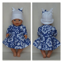 Load image into Gallery viewer, Clothes for Baby Born, Baby Born sister, new Baby Annabell or other doll till 43 cm (17 inch)