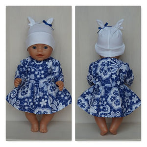 Clothes for Baby Born, Baby Born sister, new Baby Annabell or other doll till 43 cm (17 inch)