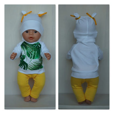 Clothes for Baby Born (sister), new Baby Annabell or other doll 43 cm