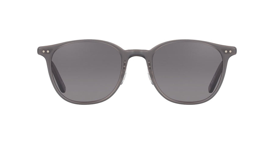 Garrett Leight - Beach - Matte Grey Silver - Brushed Grey/Black - Niche Bazaar Studio