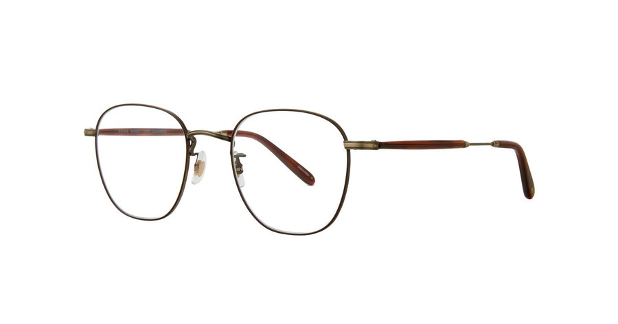 Garrett Leight | Grant M - Antique Gold & Dark Honey Tortoise - Niche Bazaar Studio