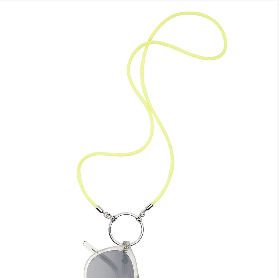 La Loop | Highlight Rubber with Silver plated loop - Niche Bazaar Studio