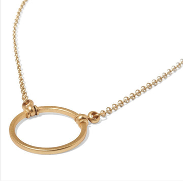 La Loop | The Satin Gold Mini Chain - Niche Bazaar Studio