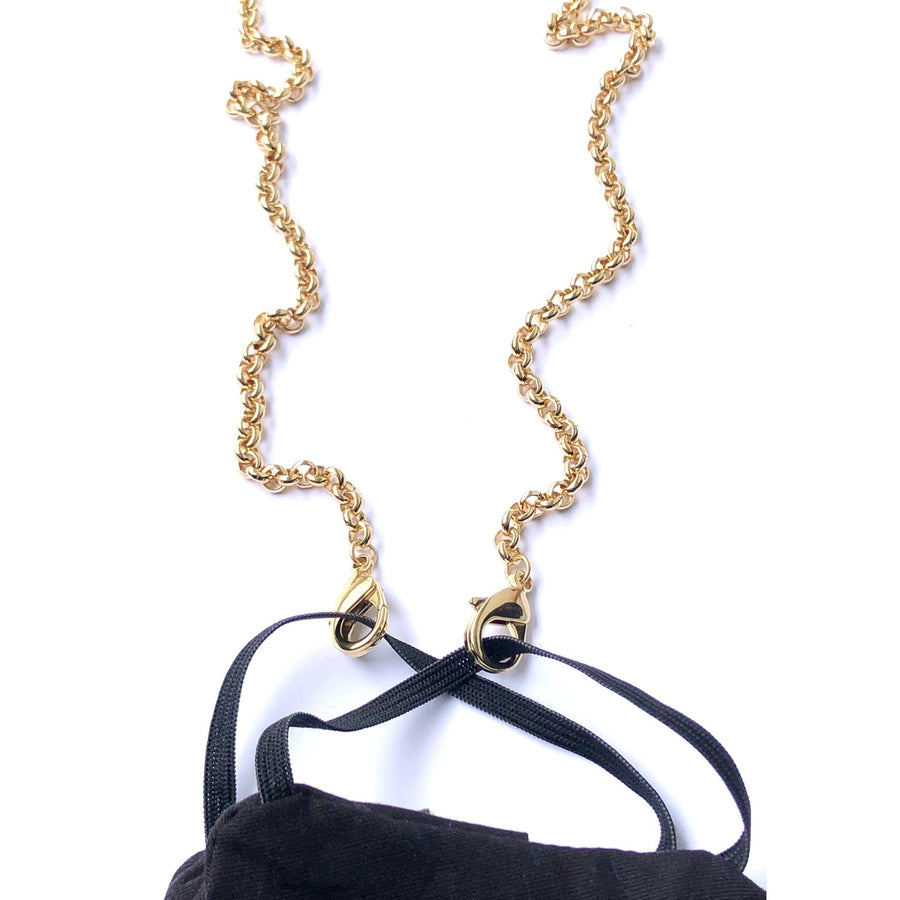 LaMask The Gold Plated Rolo Chain - Niche Bazaar Studio