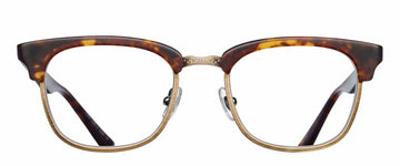 MATSUDA | M2040 | MATTE BROWN TORTOISE / ANTIQUE GOLD - Niche Bazaar Studio
