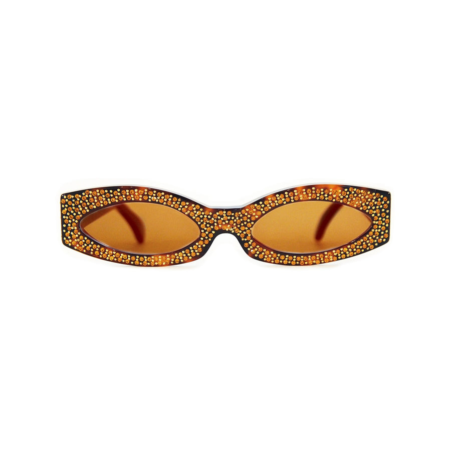 NICHE BAZAAR STUDIO | NB LIMITED EDITION 18 | PRIVATE LIFE TORTOISE WITH AMBER STONES - Niche Bazaar Studio