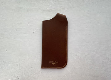 Niche Optical Tailor | Leather Glasses Case - Niche Bazaar Studio